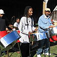 42. Steel drummers at the farm (Fall Festival)