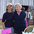 46. Carrie with her grandma (Fall Festival)