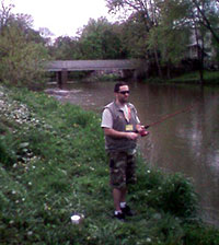 Angler on Middle Creek, Middleburg, PA