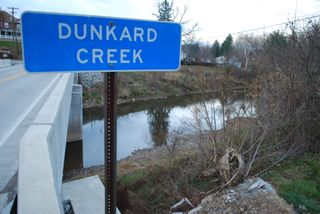Dunkard Creek sign
