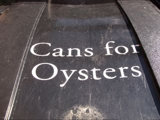 Cans for oysters