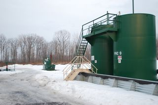 Bay Daily: 50,000 Gallons of Fracking Wastewater a Day Sent