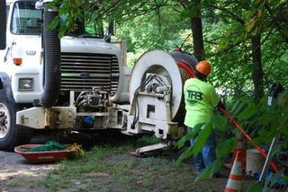 Work crews on herring run 003