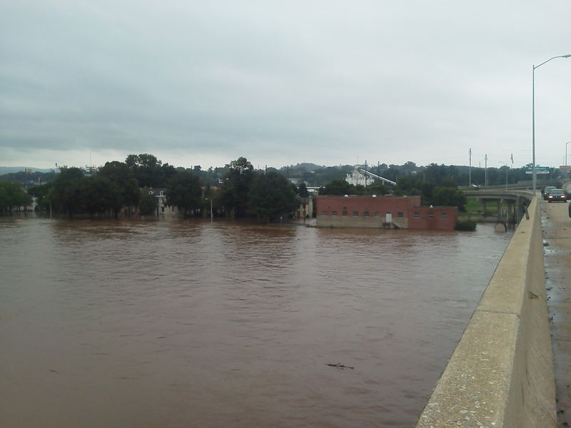 Flooded susquehanna