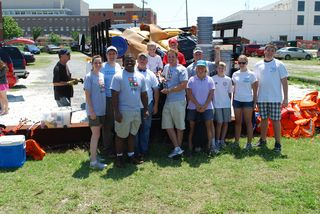 Cleanup Team from Sponsor CSX