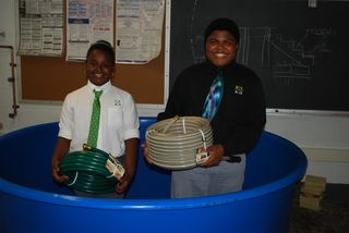 GSA fish growing tubs