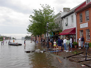 Flooded annapolis