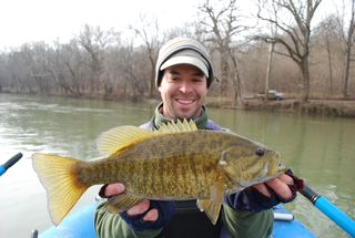 Jeff with smallmouth