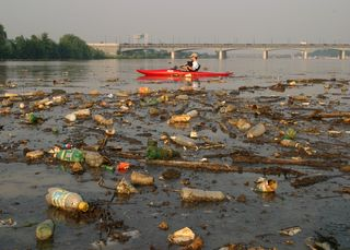 Pollutionkayak