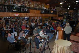 Crowd at May 8, 2013 CBF smallmouth bass forum in Harrisburg, Pa.
