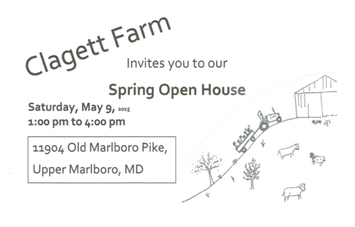 Clagett spring open house