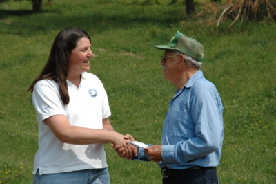 Libby with Valley Farmer
