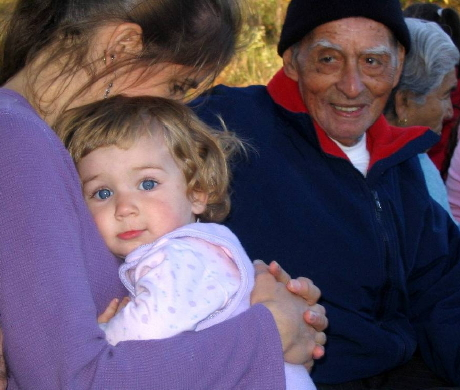 45. Lorig Charkoudian and her daughter (Fall Festival)